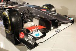 Sauber C32: Frontflügel