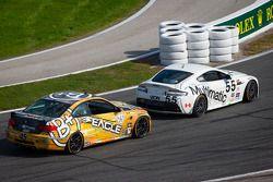 #55 Multimatic Motorsports Aston Martin Vantage: Jade Buford, Scott Maxwell e #45 Fall-Line Motorspo