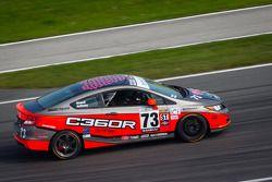 #73 Compass360 Racing Honda Civic SI: Eric Blois, Andrew Newell