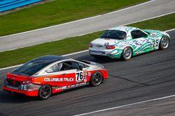 #25 Freedom Autosport Mazda MX-5: Tom Long, Derek Whitis, #76 Compass360 Racing Honda Civic SI: Adam