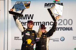 ST podium: class winners Lara Tallman and Vesko Kozarov