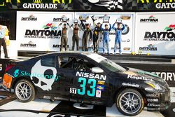 ST podium: class winners Lara Tallman and Vesko Kozarov, second place Tyler Cooke and Gregory Liefooghe, third place Ryan Eversley and Kyle Gimple