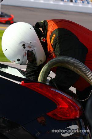 Fueler, #14 Doran Racing Nissan