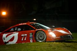 #77 Doran Racing Ford Riley: Jim Lowe, Paul Tracy, Jon Bennet, Colin Braun in trouble