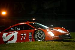 #77 Doran Racing Ford Riley: Jim Lowe, Paul Tracy, Jon Bennet, Colin Braun com problemas