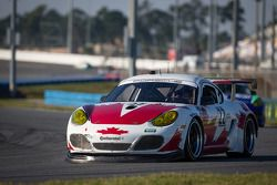 #22 Bullet Racing Porsche Cayman: James Clay, Darryl O'Young, Daniel Rogers, Seth Thomas, Karl Thomson