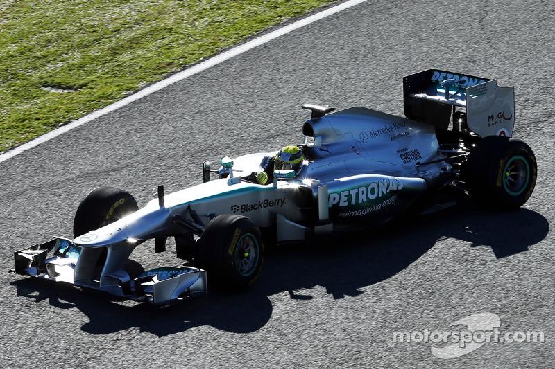 Nico Rosberg, Mercedes AMG W04