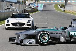 Mercedes AMG F1 W04: Frontpartie