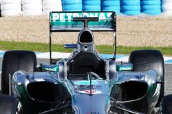 Mercedes AMG F1 W04: Cockpit