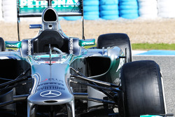 Mercedes AMG F1 W04: Seitenkasten