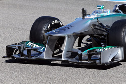 Mercedes AMG F1 W04: Frontflügel