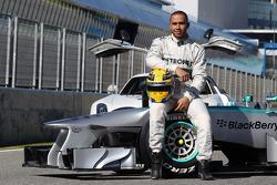 Lewis Hamilton, Mercedes AMG F1, mit dem Mercedes AMG F1 W04