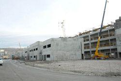 A construção continua na pista de Sochi
