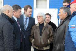 Берни Экклстоун посетил трассу Ф1 в Сочи, Особое мероприятие.