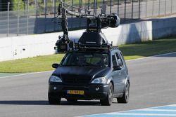 Auto de seguimiento con cámara