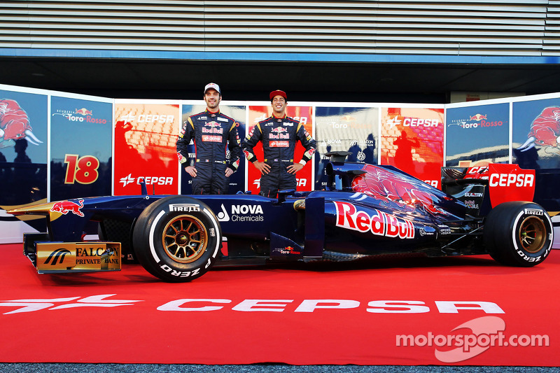 2013 - Jean-Éric Vergne e Daniel Ricciardo