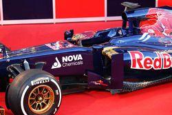 Der neue Scuderia Toro Rosso STR8