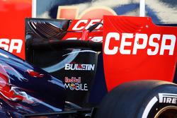 Scuderia Toro Rosso STR8 rear wing detail