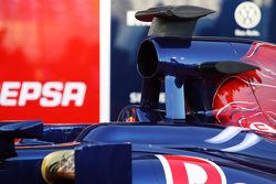Scuderia Toro Rosso STR8 air box