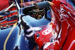 Scuderia Toro Rosso STR8 steering wheel