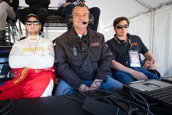Henrique Cisneros and NGT Motorsport team owner Ramez Wahab