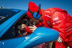 Raphael Matos e #245 Ferrari de Fort Lauderdale Ferrari 458: Mario Gleijeses