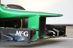 Caterham CT03: Frontpartie