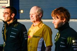 Cyril Abiteboul, Teamchef; Charles Pic, Caterham (Right)
