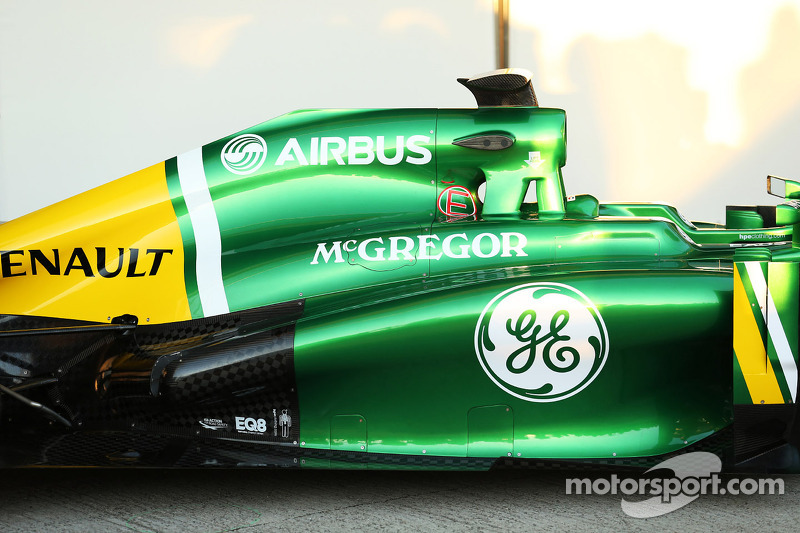 Презентация Caterham CT03, Презентация.