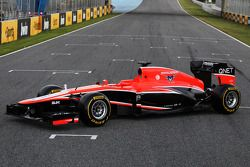 Презентация Marussia MR02, Презентация.