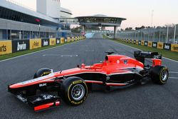 yeni Marussia F1 Team MR02 is revealed