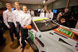 Peter Dumbreck, Stefan Mücke and Darren Turner
