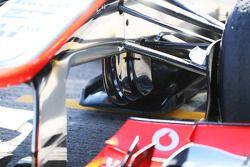 Sergio Pérez, McLaren MP4-28 detalle