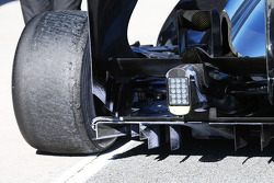 McLaren MP4-28 rear diffuser