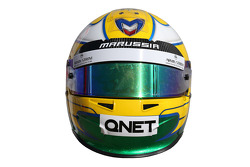The helmet of Luiz Razia, Marussia F1 Team
