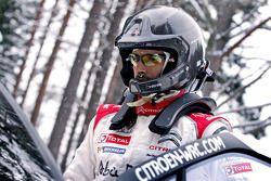 Халид Аль-Кассими. Ралли Швеция, тестовый СУ.