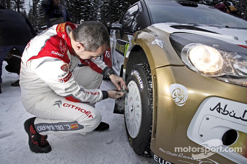 Carlos del Barrio, Citroen DS3 WRC, Citroën Total Abu Dhabi World Rally Team