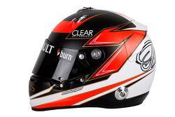 Le casque de Kimi Räikkönen, Lotus F1 Team