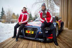 Edoardo Mortara und Mattias Ekström