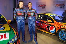 Will Davison e Mark Winterbottom apresentados pelo Team FPR Ford de 2013