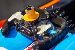 Le volant de BAR 1 Motorsports Oreca FLM09 Chevrolet