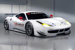 Alex Job Racing and West Racing partner to run a Ferrari 458 in GT class
