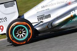 Escape del Mercedes AMG F1 W04 de Nico Rosberg
