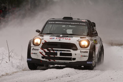 Michal Kosciuszko e Maciek Szczepaniak, Mini John Cooper trabalha WRC