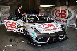 El #48 Lamborghini LP560: Justin McMillan, Steven Richards, Ross Lilley
