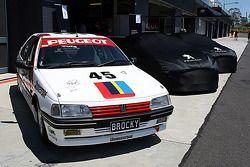 El Peugeot 405 de 1992 de Peter Brock