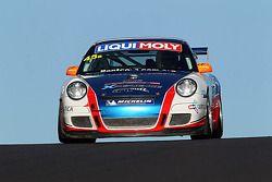 #45 Porsche 997 GT3 Cup: Indiran Padayachee, Duvashen Padayachee, Aaron Zerefos, Barton Mawer