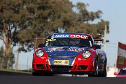 #30 Hunter Sports Group Porsche 997 GT3 Cup: Drew Russell, Steven Johnson, Jonny Reid