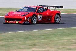 #58 AF Corse SRL Ferrari 458: Steve Wyatt, Michele Rugolo, Marco Cioci