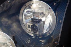 Portable camera no headlight unit do #6 Muscle Milk Pickett Racing HPD ARX-03c Honda